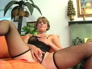 Gorgeous Clair in Fishnet Stockings (UxP)