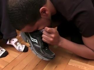 Gym Instructor's foot fetish