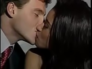 very hot french kiss
