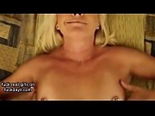 irish MILF POV Smoking Sucking and Fucking