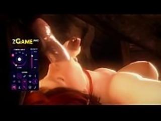 3d hentai Anal Gameplay.