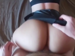 Young PAWG stripper throws it back and gets fat ass glazed - Honey Harper