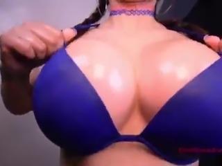 SLUTTY BIG TITS MILF Titfucks And Gets Covered in Cum - Vanillaandcaramel