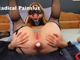 Funny Porn Fails: LOST AN EGG IN MY ASS! Painslut Anal Training