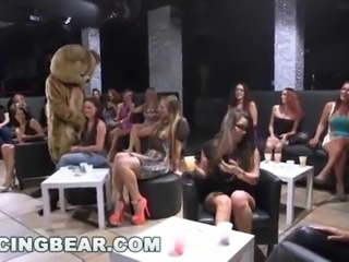 DANCING BEAR - All These Hoes Be Drippin' When The Big Dicks Come Out To Play!