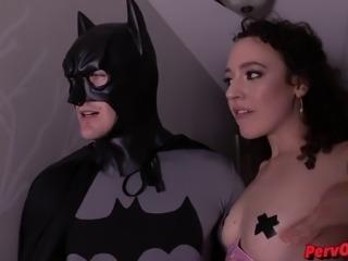 Demon Lilith Seduces Batman and Steals His Cum