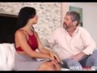 'Cute Tiny Teen Latina Cheating Wife Gina Valentina Fucks Husbands Black Fr'