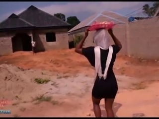 SWEETPORN9JAA-Jumoke the bread seller fucked by a site worker on site