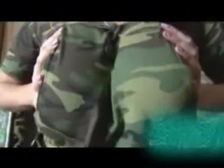Laura Orsolya military masturbating free