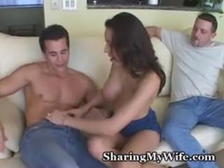 Hot Wife's Cum Fiesta