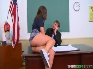 InnocentHigh brunette schoolgir ... free