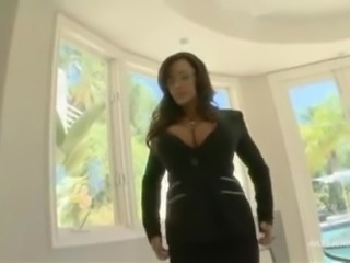 Lisa Ann gets anal from Mandingo's monster cock