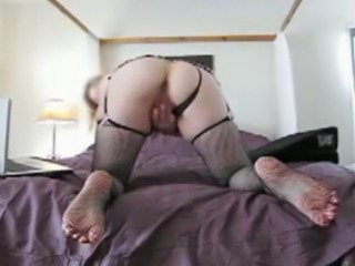 divorced Mom and secretary. My self taped home movie. Fucking my self with a...