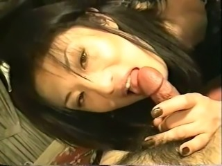 Japanese Crossdresser Sucking POV