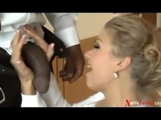 German wife husband and BBC sandwich