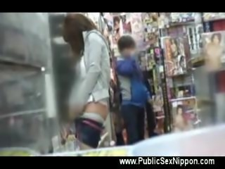 Public asian teen masturbation scene