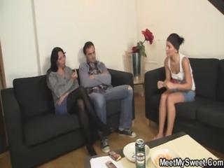 Parents seduce their son's GF free
