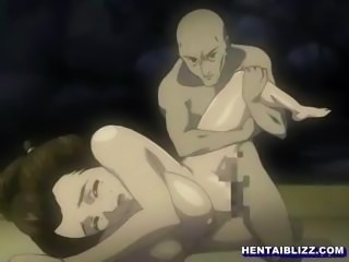 Japanese Kimono hentai fucking a bigcock by ghetto anime
