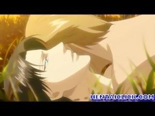 Hentai fagget gay having anal cock