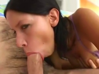 Despite the title, the ending does not end in a creampie, or any cum shot for...