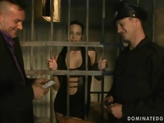 Cute Aliz getting punished and fucked