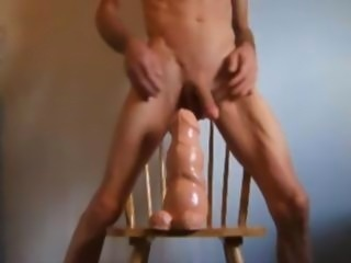 Double Ass Fuck with a Huge Walrus Cock