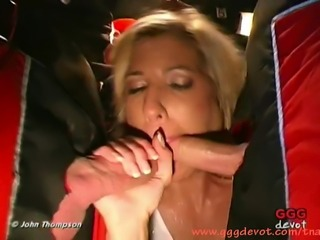 It's been a long time since blonde Vivian sucked, fucked and swallowed and...