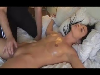 tied up beauty orgasms