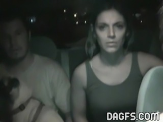 Caught on tape fucking in a Spanish cab free