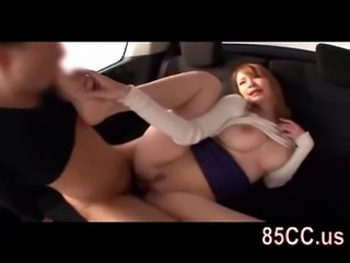 Big tits beauty random flirt fucked with amateur boy 03