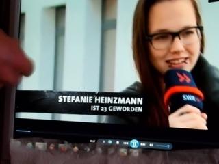 Stefanie Heinzmann vollgerotzt