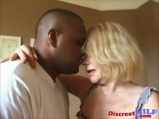 Dirty Grandma Gets Ghetto Black Cock free