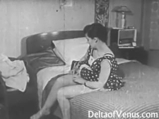 Vintage Erotica 1950s - Voyeur Fuck - Peeping Tom free