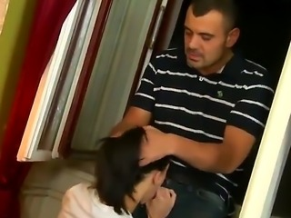 Horny neighbors take part in swinger party where they pleasure each other and...