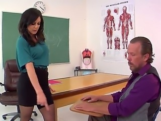 Kendra Lust teaches Tom Byron to