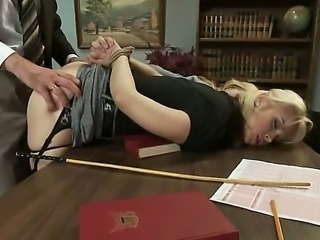 Emma Haize is a disrespectful student and her professor Sarah Vandella does...