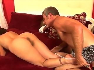 Sexy tanned milf Melissa Monet loves as her fucker Jay Crew eats her pussy...