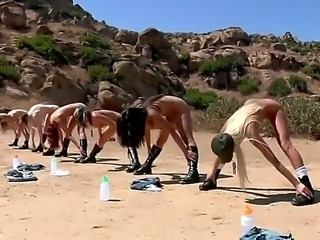 A group of army girls Breanne