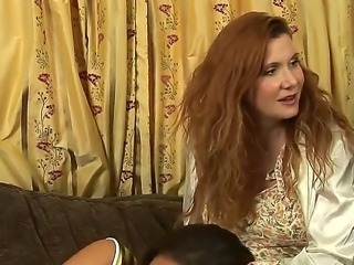 Mia Presley and Randi James are playing naughty games and get horny by the...