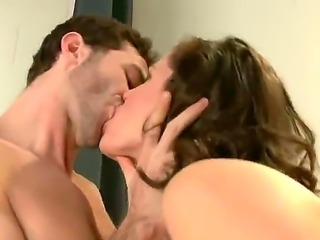 An awesome threesome rough scene with the pornstars James Deen, Bobbi Starr...