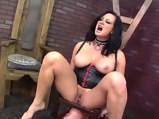 Tom Byron is getting dominated by Tory Lane. The sexual woman with ideal...