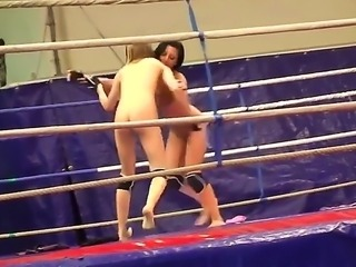 Do you love to check up wrestling scenes Then see how Candy Love and Destiny...