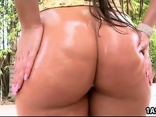 Lovely ass Ava Alvares gets fucked outdoor