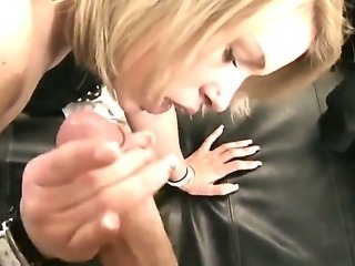 Amazing blonde Lydia is feeling like sucking a hard dick today, enjoy this...