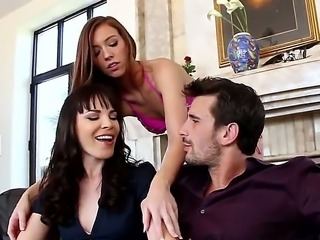Maddy Oreilly is in the right hands tonight  MILF Dana DeArmond and her hubby...