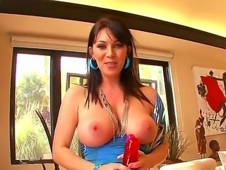 Arousing experienced brunette milf Ray Veness