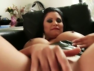 Horny brunette with juicy ass big