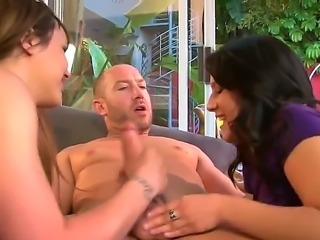 Liv Aguilera and her hubby are swingers that are always open to new...