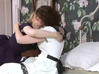 Ripe lesbian Nina Hartley always gets what she wants and thats absolutely no...