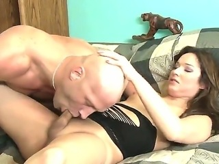 Perverted guy Christian A loves to have sex with shemales. Today he is...